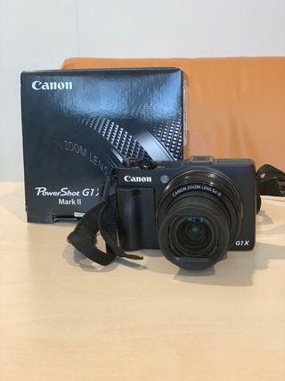 Camara Canon G1 X Mark II