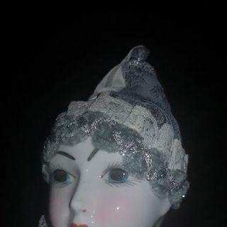 Muñeca arlequín de porcelana de Ramon Inglés