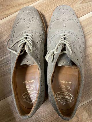 Zapatos Church's full brogue ante suela goma 9,5