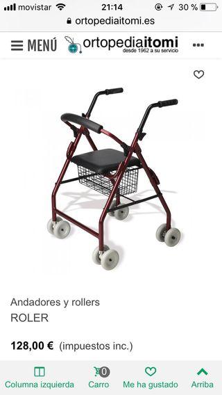 Andador ancianos