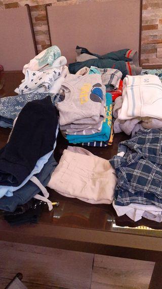 Lote ropa bebe niño de 3 a 6 meses,