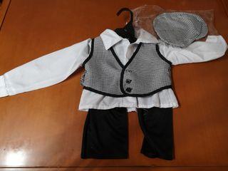 Disfraz de chulapo bebe 6 a 12 meses
