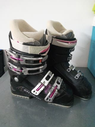 botas talla 25 para 39 de pie salomon
