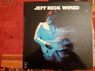 Jeff Beck-Wired- lp Vinilo . Perfecto estado. 12eu