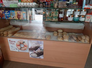 Mostrador panaderia nuevo