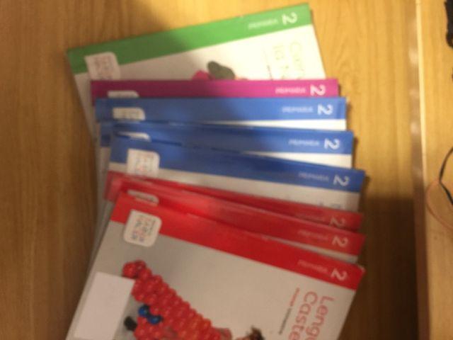 Libros Segundo primaria Santillana