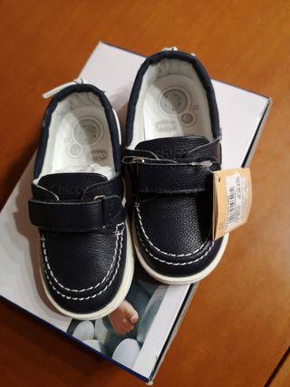 zapatos de chicco para niño a estrenar talla 23