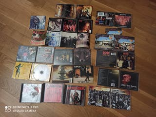lote CD's punk radikal rock LEER