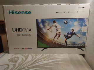 televisión 50 pulgadas. Smart TV NUEVA con garanti