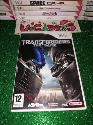 Transformers the game El videojuego Nintendo wii