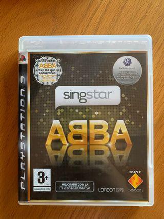 Juego Singstar ABBA para Playstation 3