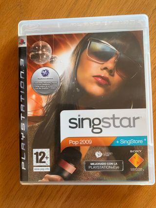 Juego Singstar para Playstation 3