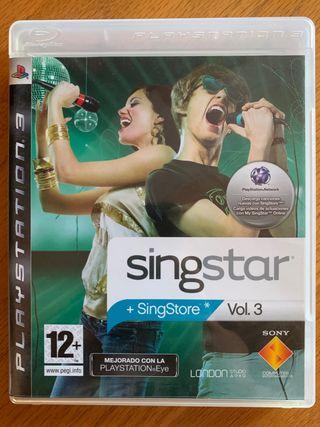 Juego Singstar para Playstation 3 - Vol 3