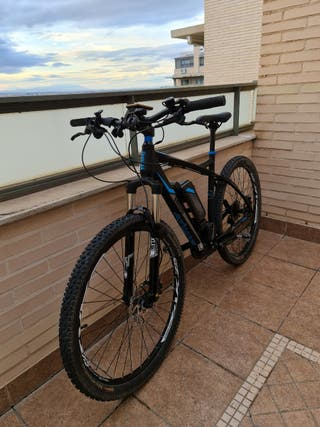 Bicicleta eléctrica motor central