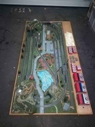 ibertren. maqueta toporama trens 1003N