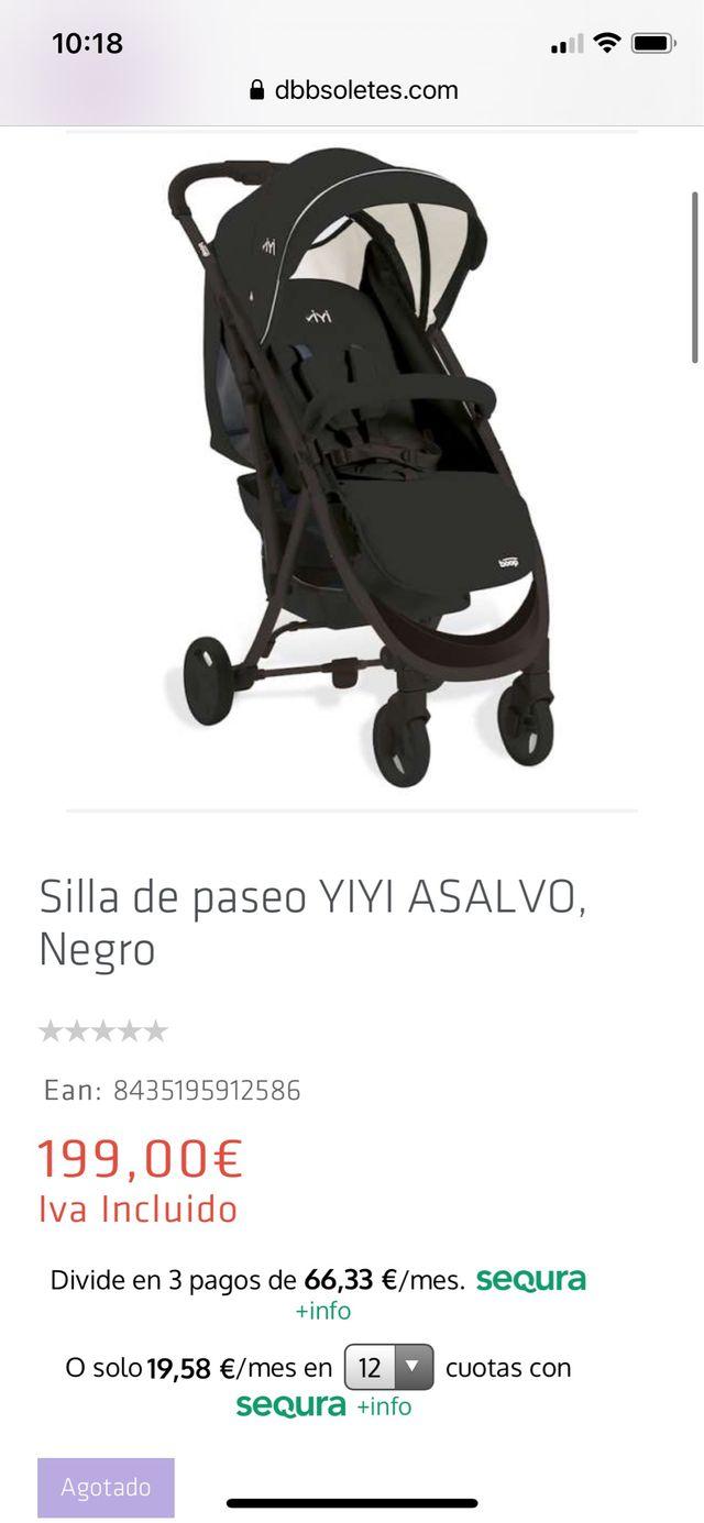 Carrito / silla paseo / carricoche
