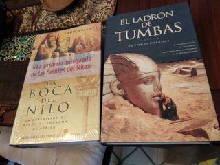 Libros temática Egipto