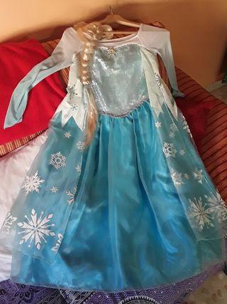 Disfraz original de Elsa (Película Frozen)