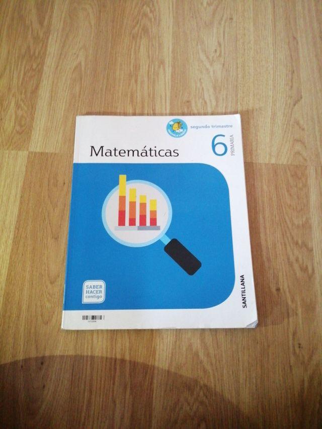 Libro De Matemáticas 6 De Primaria Segundo Trimest