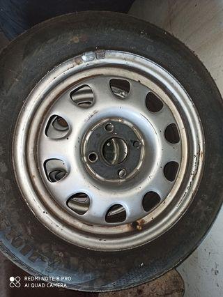 """llantas y neumaticos 14"""" Volkswagen"""