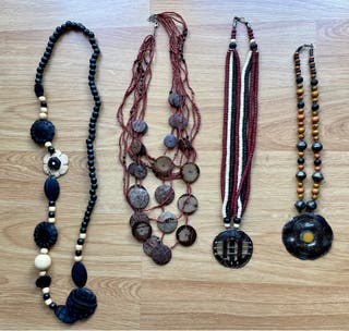 Lote 4 collares