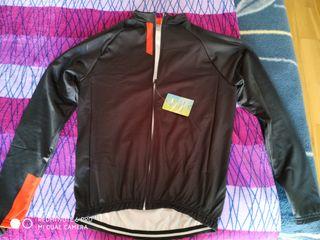 Se vende conjunto ropa ciclismo invierno talla l