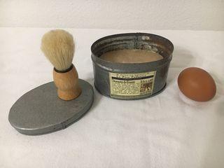 SET Jabón y cepillo/brocha para afeitar