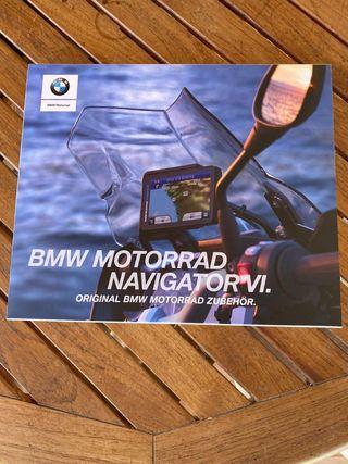 GPS MOTORRAD BMW NAVIGATOR VI