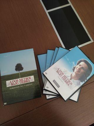 """DVDs Serie """"A 2 metros bajo tierra"""" Temporada 2"""