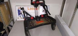 Patinete cochecito BuggyBoard Maxi de Lascal