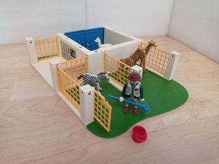 Veterinario Zoo Playmobil