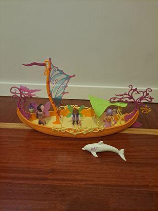 Playmobil Barco romántico de las hadas