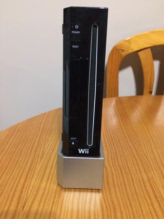 Consola Wii color negro