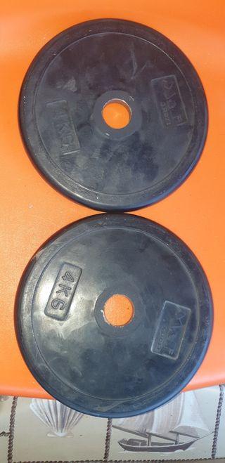 discos 4 kg