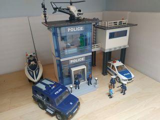 Superlote policías Playmobil