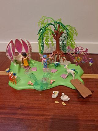 Playmobil Isla de las hadas con fuente de piedras