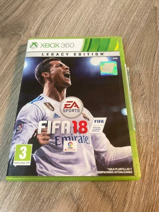 FIFA 18 xbox360 legacy edition