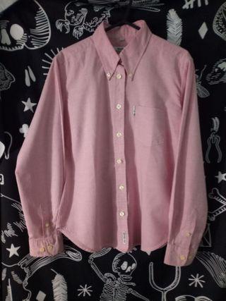 Camisa Ben Sherman Mujer 36 Rosa