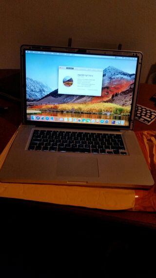 Macbook Pro 15 2010 i5 FALLO GRAFICO