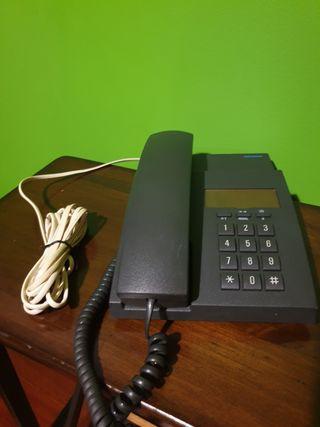 Teléfono Siemens vintage de teclas negro