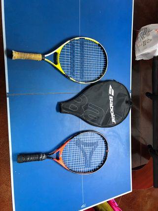 Raquetas de tenis babolat