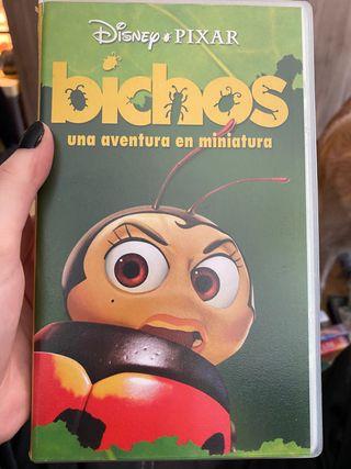 Bichos en VHS (original disney pixar)