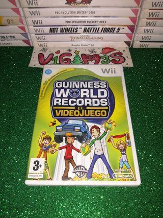 Guinness world records El videojuego Nintendo wii