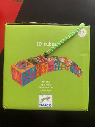 Juego cubos aplilables Djeco