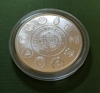 Moneda de 10 euros - Portugal 2005 - Sé do Porto