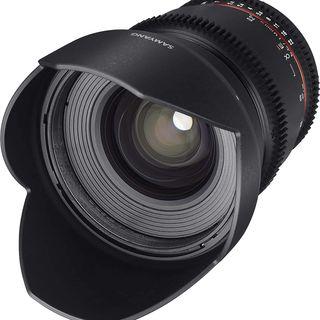 Samyang MF 16mm T2.2 ED AS UMC CSII VDSLR Canon EF