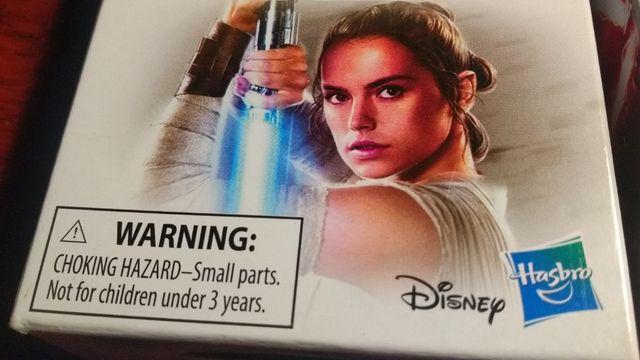 STAR WARS pack figuras Rey - Kylo Ren (NUEVO)