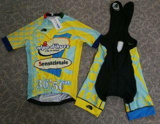 Maillot completo NUEVO L Marco Pantani Ciclismo