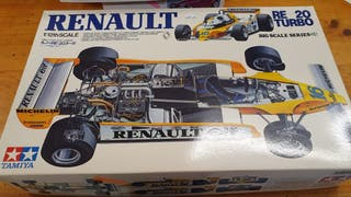"Maqueta de coche ""RENAULT RE 20 TURBO"""