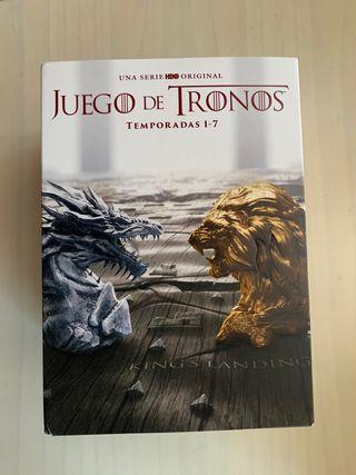 Temporadas 1 a 7 juego de tronos